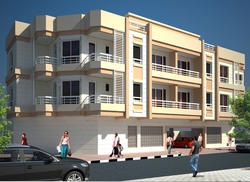 Proposed G+2+GYM Residential Building
