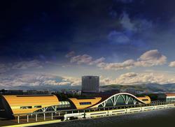 G+2 Railway Station